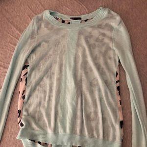 Tops - Sheer long sleeve sweater